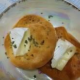 カマンベールミニピザ