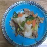 豚肉と野菜の炒め物セット