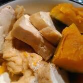 カボチャと厚揚げの煮物