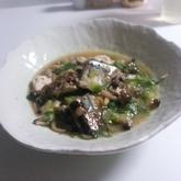 サンマのピリッと煮
