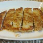 チーズ風味のポークカツ