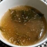 ワカメとゴマのスープ