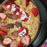 ストロベリーベイクドチーズケーキ