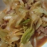 豚とキャベツのピリ辛煮