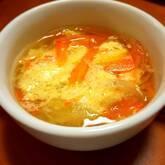 ふんわり卵のコンソメスープ
