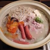 とんこつ豆乳鍋