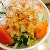 水菜と大根のサラダ