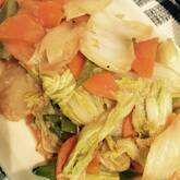 ピリ辛!豚肉とたっぷり野菜のみそ炒め