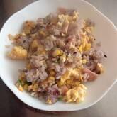 卵のシンプルチャーハン