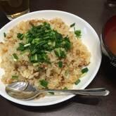 レタス包み納豆チャーハン