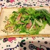 春キャベツのペペロンサラダ