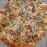 手作りクリスピーピザ
