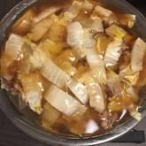 あんかけ白菜と豚肉の重ね蒸し