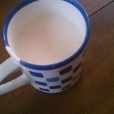 甘酒の牛乳割り