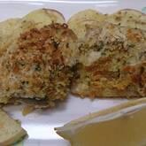 サバのパン粉焼き