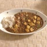 ひき肉と豆腐のヘルシーカレー