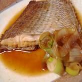 連子鯛の煮付け
