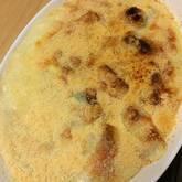 里芋とキノコのグラタン