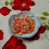 糸コンニャクのタラコ炒め