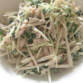 ゴボウのサラダ
