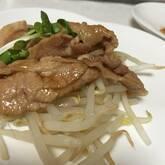 豚薄切肉のショウガ焼き