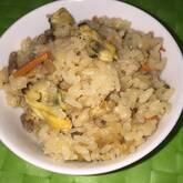 アサリの炊き込みご飯