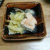 鮭のバター蒸し煮