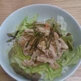 梅おろし豚丼
