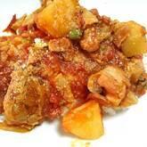 鶏もも肉のトマト煮