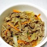 牛肉のソース炒め