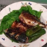 サバの焼き肉ダレ焼き