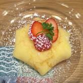 イチゴのクレープケーキ