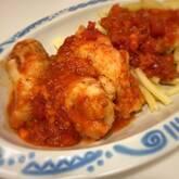 鶏手羽元のやわらかトマト煮