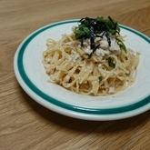 明太クリームスパゲティー