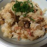 ゴボウベーコンの混ぜご飯