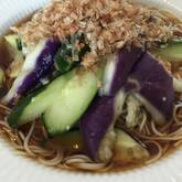 梅ナス素麺