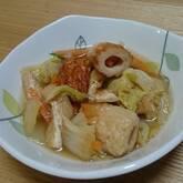 ちくわと白菜の煮物
