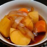 ジャガイモとインゲンの煮物