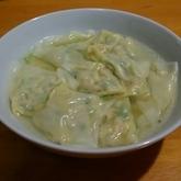 小松菜ワンタン