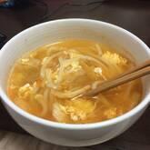 かんたん水炊き+トロトロ卵のキムチうどん