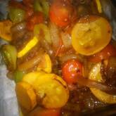 炒め煮野菜のマリネ