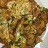 細ネギとチーズの卵焼き