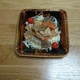 板コンと鶏肉の炒め煮