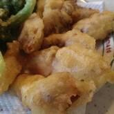 白身魚のサックリカレー揚げ