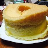 ユズシフォンケーキ