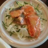 鮭マヨカレーソース