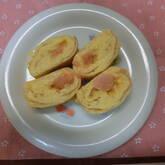 辛子明太子の卵焼き