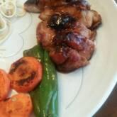 鶏肉の梅照り焼き