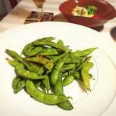 焼き枝豆のナムル