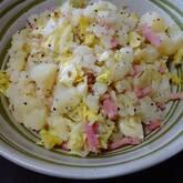 キャベツとアンチョビのポテトサラダ